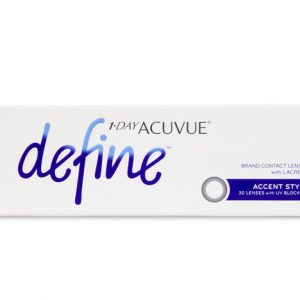 1 Day Acuvue Define Accent Style- 30 Pack