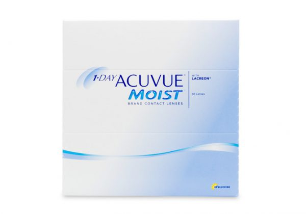 1 Day Acuvue Moist- 90 Pack