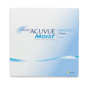 1 Day Acuvue Moist for Astigmatism- 90 Pack