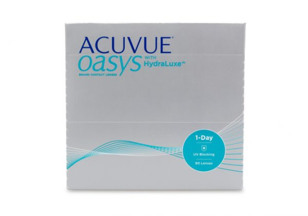 Acuvue Oasys with Hydraluxe- 90 Pack